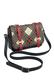 Фото 4 Кожаная женская сумка №48 Тартан, чёрная в интернет-магазине Unique U дизайнера Елены Юдкевич