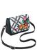 Фото 5 Кожаная женская сумка №48 Лазоревый цветок, чёрная в интернет-магазине Unique U дизайнера Елены Юдкевич
