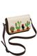 Фото 6 Кожаная женская сумка №48 Цветы на окошке, коричневая в интернет-магазине Unique U дизайнера Елены Юдкевич