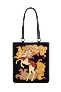 Фото 1 Кожаная сумка Конь-огонь, м.№1а в Интернет-магазине UNIQUE U