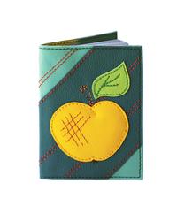 Обложка на паспорт Яблоко