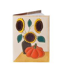 Обложка на паспорт Подсолнухи