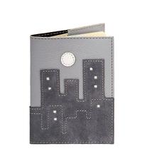 Обложка на паспорт Город, серая