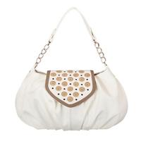 Фото 1 Кожаная сумка №38, Ча-ча-ча, белая в интернет-магазине Unique U