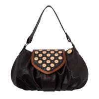 Фото 1 Кожаная сумка №38, Ча-ча-ча, коричневая в интернет-магазине Unique U