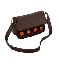 сумка м.28 коричневая