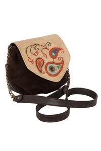 Кожаная женская  сумка Пейсли М.№31 в Интернет-магазине UNIQUE U дизайнера Елены Юдкевич