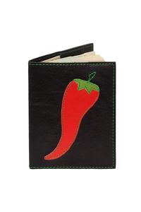 Кожаная обложка на паспорт №2, Перец
