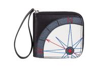 Фото 1 КОЖАНОЕ мужское портмоне компас, чёрный в Интернет-магазине UNIQUE U