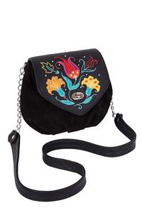 Фото 1 Кожаная женская сумка № 31, Изник чёрная в Интернет-магазине UNIQUE U