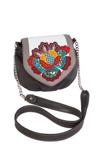 Фото 1 Кожаная женская сумка №31, Загадочный цветок  в Интернет-магазине UNIQUE U