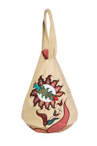 Фото 1 Кожаная женская сумка-торба №26, Изник  в интернет-магазине Unique U