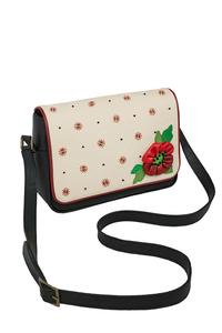 Кожаная женская сумка №48 МАК чёрная  в интернет-магазине Unique U дизайнера Елены Юдкевич Фото 1