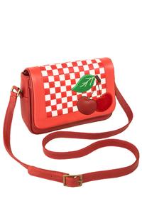 Кожаная женская сумка №48 Вишенки  в интернет-магазине Unique U дизайнера Елены Юдкевич Фото 1