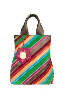кожаная женская сумка м.№21, Загадочный цветок