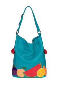 кожаная женская сумка м.53