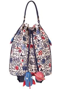 Кожаный рюкзак м.49