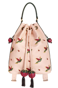 Кожаный женский рюкзак м49
