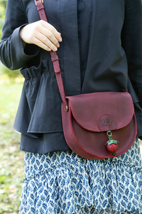 женская кожаная сумка м.57