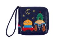 Кожаный кошелек-портмоне