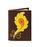 Кожаная обложка  на паспорт №1, Перо Жар-птицы