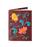 Обложка на паспорт Вальс цветов, золотисто-коричневая