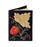 Кожаная обложка  на паспорт №1, Хохлома