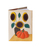 Кожаная обложка  на паспорт №1, Подсолнухи