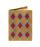Обложка на паспорт Ромбы, бежевая