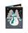 Кожаная обложка  на паспорт №1, Снеговичок
