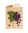 Кожаная обложка  на паспорт №1, Виноград
