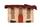 Кожаная косметичка №1, Альпийский домик