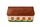 Клатч Сельский домик, м.№35, цвет розовый перламутр