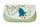 1 фото Ключница кожаная светло-зелёная  дизайнерская Вальс цветов в Интернет-магазине UNIQUE U