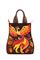 Кожаная сумка №21, Жар-птица