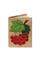 Кожаная обложка  на паспорт №1, Калинка