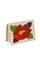 Кожаная женская обложка на паспорт розовый перламутр №2, Мак