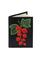 Кожаная обложка  на паспорт №1, Смородина красная