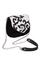 Фото 1 КОЖАНАЯ женская СУМКА №31, Барокко чёрно-белая в Интернет-магазине UNIQUE U