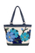 Фото 1 Кожаная женская сумка №46, Императорская сакура синяя в Интернет-магазине UNIQUE U