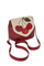 Кожаная сумка №31, Вишенки