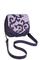 Фото 1 КОЖАНАЯ женская СУМКА №31, Барокко фиолетовая в Интернет-магазине UNIQUE U