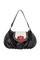 Кожаная женская сумка чёрная №38, Мак