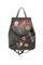 Фото 1 Кожаный рюкзак №47, Японские птички, серый в интернет-магазине Unique U