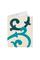 Обложка на паспорт кремовая №2, барокко