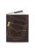 Кожаная обложка  на паспорт №1 коричневая, Джинсовый карман