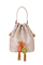 Кожаная женская сумка бежевая м.51