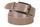 кожаный женский пояс бежевый 3,5см