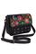 Кожаная женская сумка черная №54