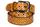 Кожаный женский пояс горчичный 2.7см